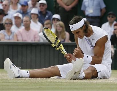 Photo of Rafael Nadal by aldinegirl12.