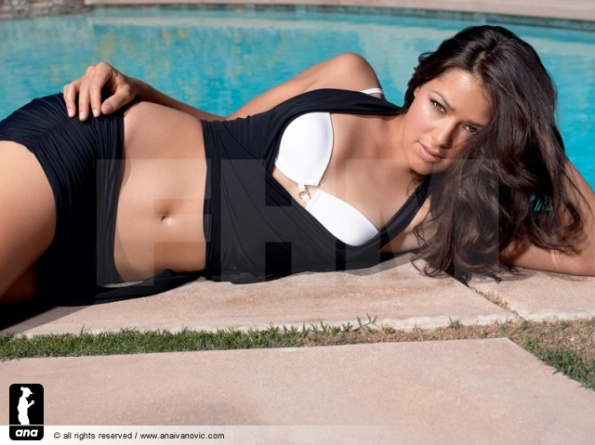 Ana Ivanovic FHM Shoot 2008.
