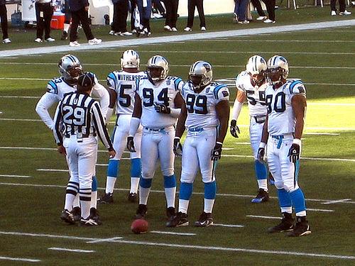 Photo of Carolina Panthers players by ~C4Chaos.