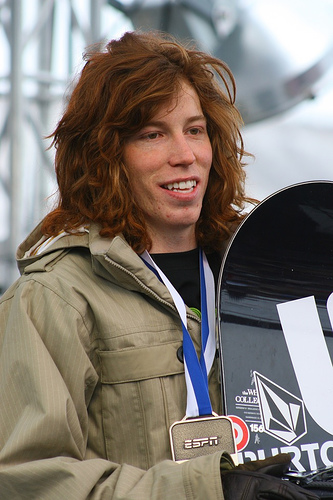 Photo of Shaun White by Bugsy.