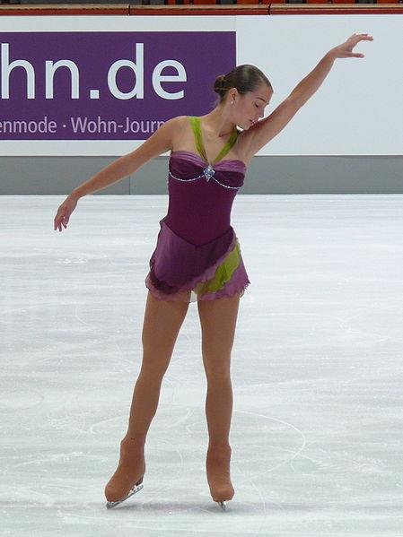 Photo of Alissa Czisny by Eigenes Werk.
