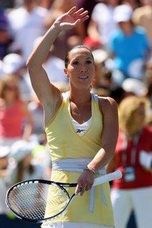 Photo of Jelena Jankovic via Great Tennis Photos.