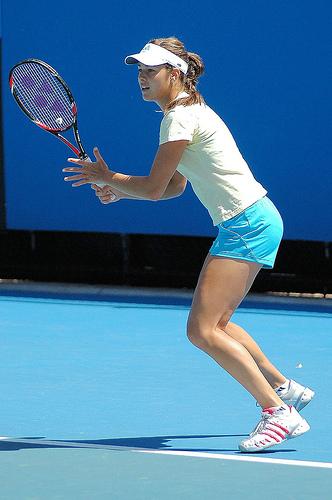 Photo of Ana Ivanovic by Greg Rose.