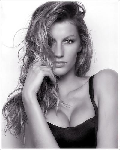 Photo of Gisele Bundchen by Louisa Lampton.