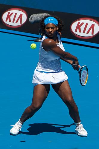 Photo of Serena Williams by Sascha Wenninger.