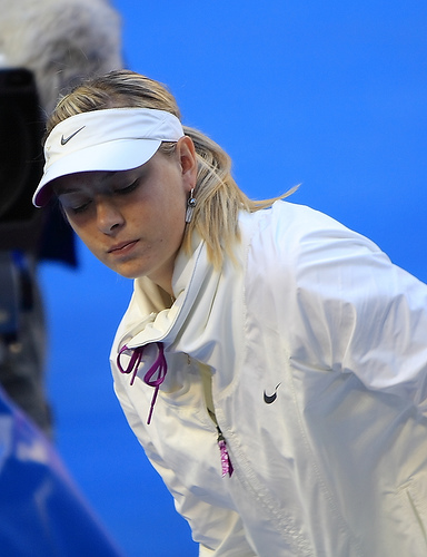 Photo by Maria Sharapova by The Eternity.