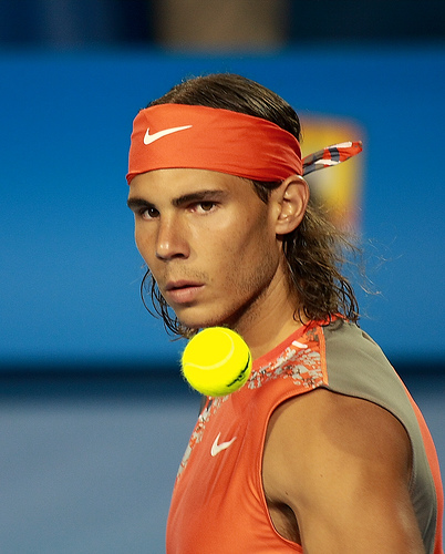 Photo of Rafael Nadal by The Eternity.