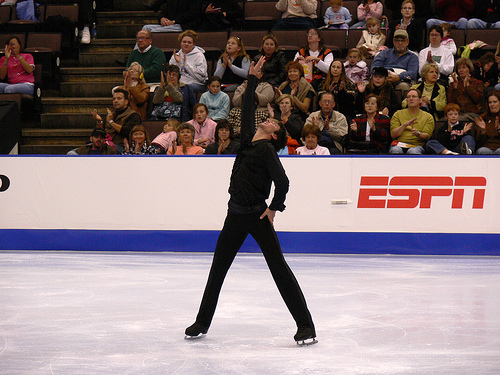 Evan Lysacek will need a phenomenal free skate if he wants to have any hope of winning the gold. Photo by compose-r.net.