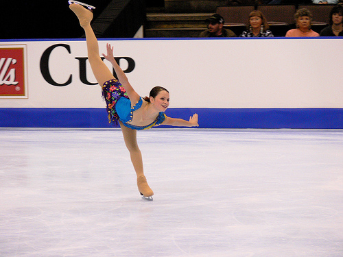 Photo of Sasha Cohen by compose-r.net.