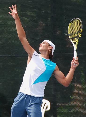 Photo of Rafael Nadal by franz88.