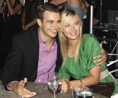 Photo of Maria Sharapova and Charlie Ebersol via Great Tennis Photos.
