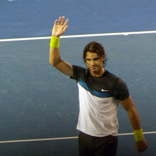 Photo of Rafael Nadal by Hamachi!