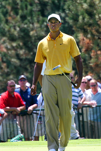 Photo of Tiger Woods by Mike Davis.