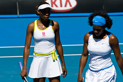 Photo of Venus and Serena Willams by jayegirl99.